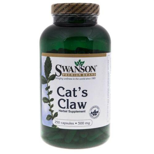Swanson, Cat's Claw, Katzenkralle, 500 mg, 250 Kapseln