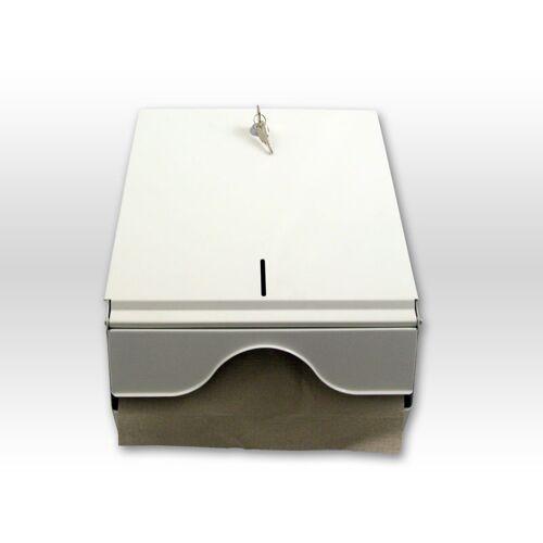 Spender für Papierhandtuch Metall ( Falthandtuchspender )