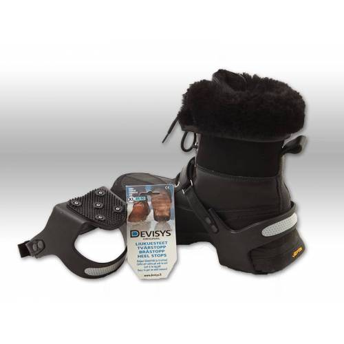 Anti Rutschschutz für Schuhe Gleitschutz Gr.XL für Schuhe 45-50
