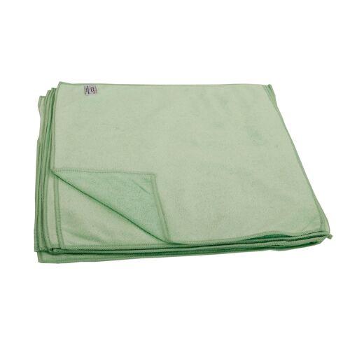 Microfasertücher 40 x 40cm grün 10er Pack