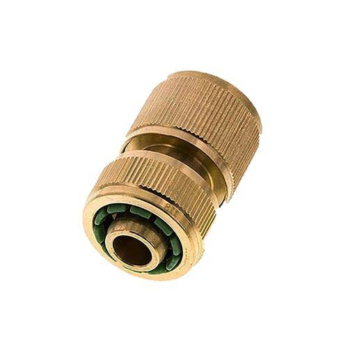 """Kupplungsdose Schlauch 13 mm (1/2"""") , Messing, mit Wasserstopp"""