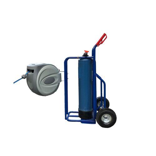 Flaschenwagen für Mischbettharz Flasche 25 Liter