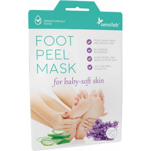Sensilab Foot Peel Fußmaske in Socken