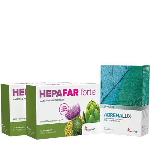 Sensilab Paket gegen Stress und Bauchfett