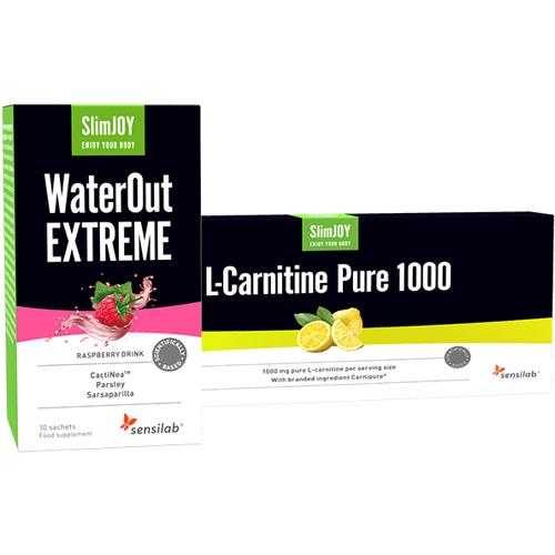 Sensilab Schnell schlank 10-Tage Paket   Abnehmpaket zur Beseitigung von Wassereinlagerungen und Fettverbrennung   Sensilab