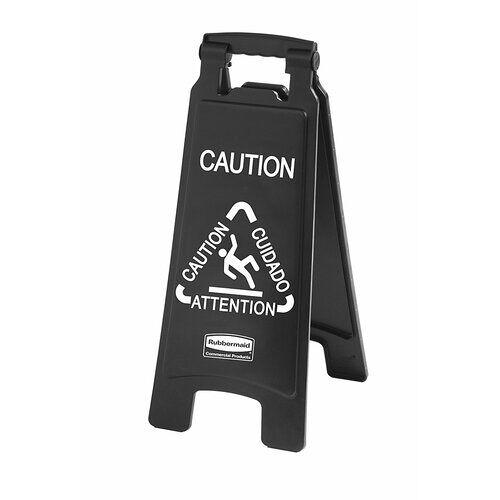Rubbermaid Commercial Products Schild Caution Rubbermaid Commercial Products