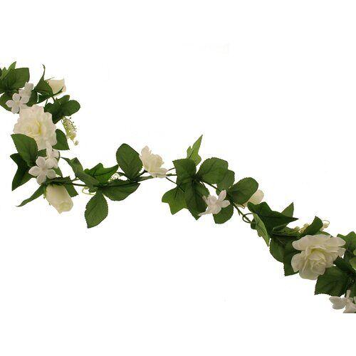 Die Saisontruhe Girlande Hochzeit Die Saisontruhe Baumfarbe: Weiß
