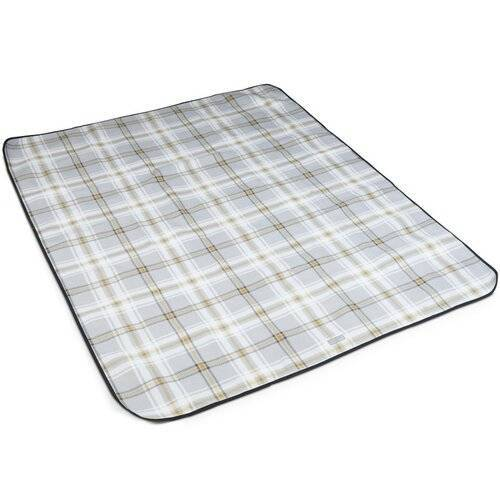 VonShef Picknickdecke XL VonShef Farbe: Grau
