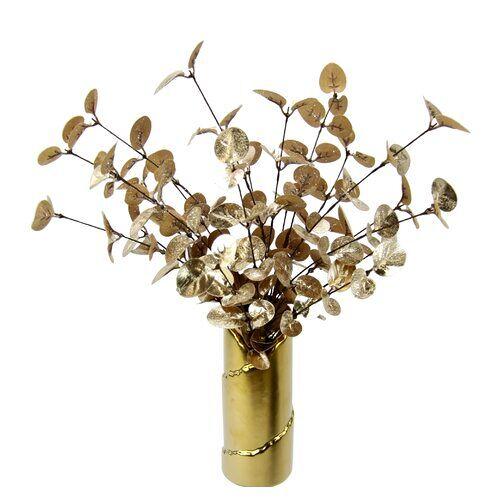 Die Saisontruhe Kunstblume Eukalyptus in Vase Die Saisontruhe