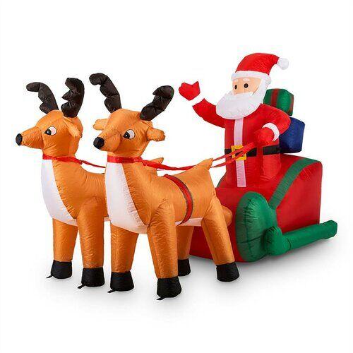 oneConcept Gartenfigur Weihnachtsmann OneConcept X-Mas X-Press oneConcept