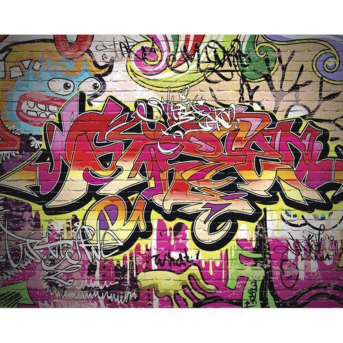 East Urban Home Glatte Fototapete City Graffiti East Urban Home