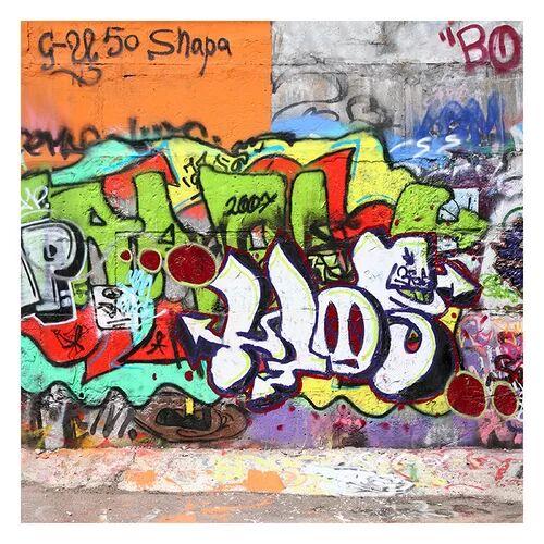 East Urban Home Matt Fototapete Graffiti 1,92 m x 192 cm East Urban Home