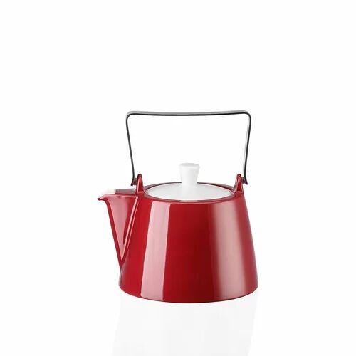 Arzberg 1,15 L Teekanne Tric aus Porzellan Arzberg Farbe: Dunkelrot