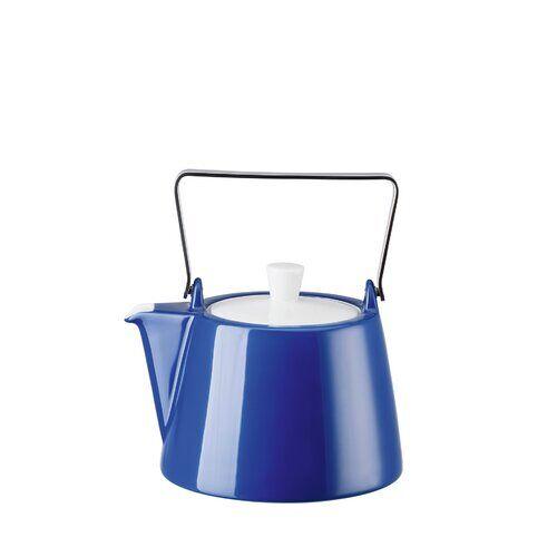 Arzberg 1,15 L Teekanne Tric aus Porzellan Arzberg Farbe: Blau