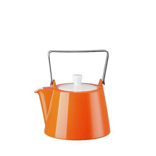 Arzberg 1,15 L Teekanne Tric aus Porzellan Arzberg Farbe: Orange