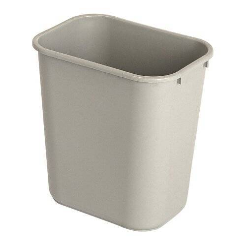 Rubbermaid Commercial Products 26,6 L Abfalleimer Rubbermaid Commercial Products Farbe: Grau