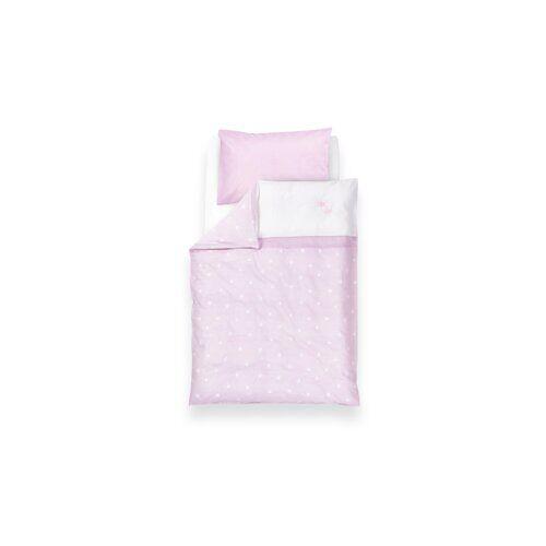 Träumeland 2-tlg. Babybettwäsche-Set Krone Träumeland Farbe: Rosa