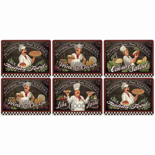 Pimpernel Platzsets Chef's Specials Pimpernel