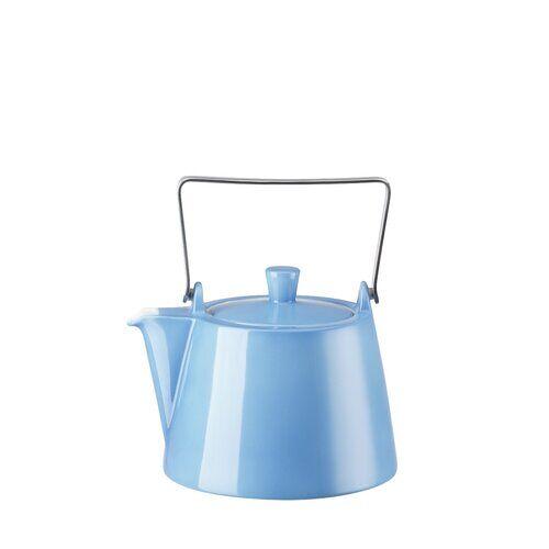 Arzberg 1,15 L Teekanne Tric aus Porzellan Arzberg Farbe: Hellblau