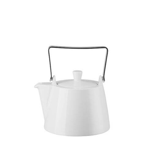 Arzberg 1,15 L Teekanne Tric aus Porzellan Arzberg Farbe: Weiß