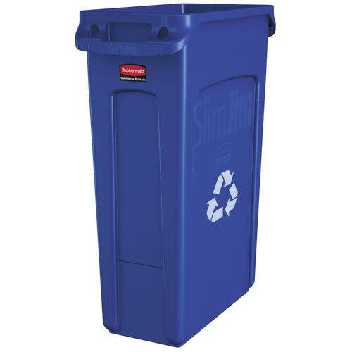 Rubbermaid Commercial Products 87 L Abfalleimer Slim Jim Rubbermaid Commercial Products