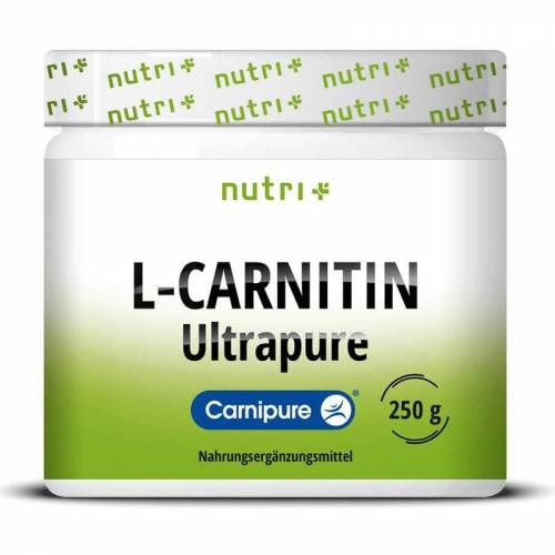Nutrition-Plus Germany Nutri-Plus L-Carnitin Pulver Carnipure - 250g