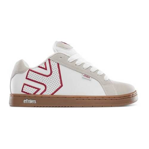 Etnies Skate Shoes Etnies Fader (White/Tan)