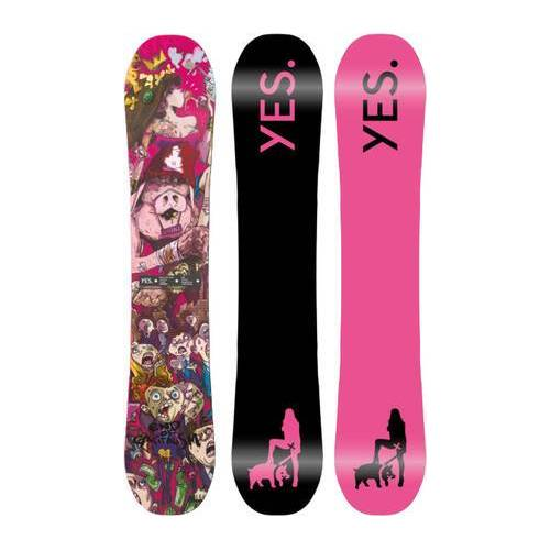 Yes Snowboards Snowboard Yes Basic UnInc RDM 21/22 (Pink)