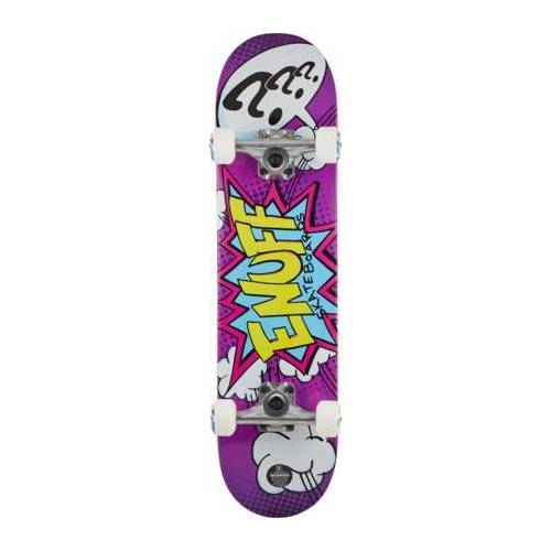 Enuff Skateboard Komplettboard Enuff POW (Lila)