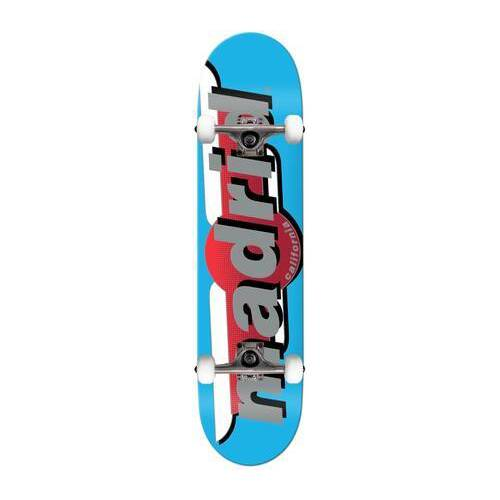 Madrid Skateboard Komplettboard Madrid (Blau)