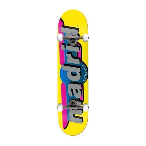 Madrid Skateboard Komplettboard Madrid (Gelb)