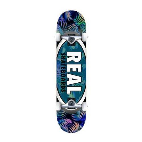 Real Skateboard Komplettboard Real Team Edition Oval (Tropic)