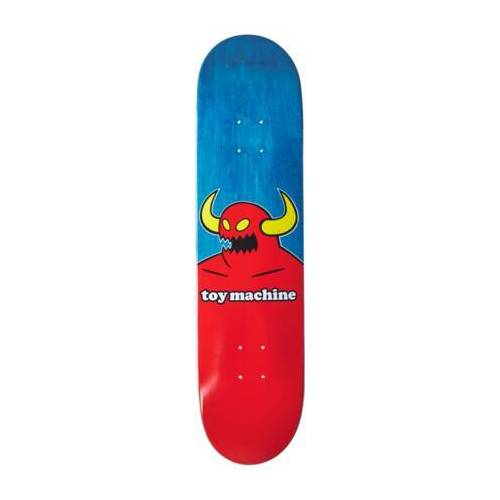 Toy Machine Skateboard Deck Toy Machine Monster (Blau)