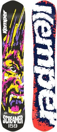 Kemper Snowboards Snowboard Kemper Screamer 1990/91 (Schwarz)