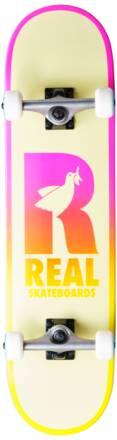 Real Skateboard Komplettboard Real Be Free (Pink)