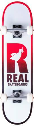 Real Skateboard Komplettboard Real Be Free (Rot)
