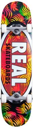 Real Skateboard Komplettboard Real Team Edition Oval (Tropic)