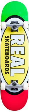 Real Skateboard Komplettboard Real Team Edition Oval (Gelb)