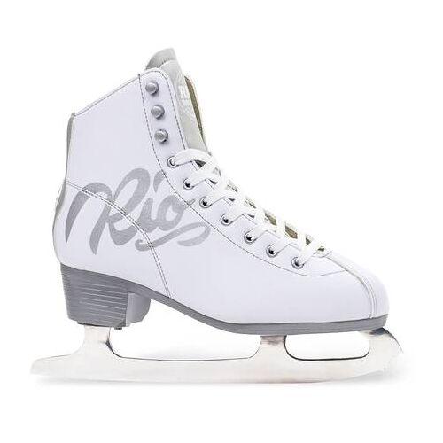 Rio Eiskunstlauf Schlittschuhe Rio Roller Script (Weiß)