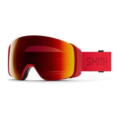 Smith Skibrille Smith 4D Mag (Lava/Sun Red Mirror)
