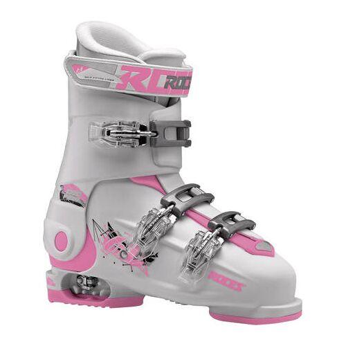Roces Skischuhe Kinder Roces Idea Free 6in1 Junior Verstellbar (Weiß/Pink)