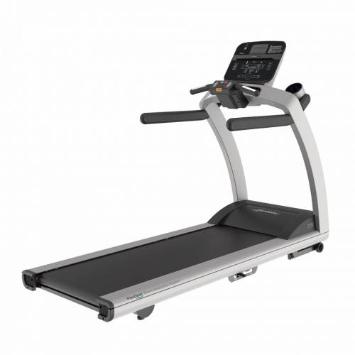 Life Fitness Laufband T5 mit Track Connect Konsole inkl. Bodenschutzmatte und P