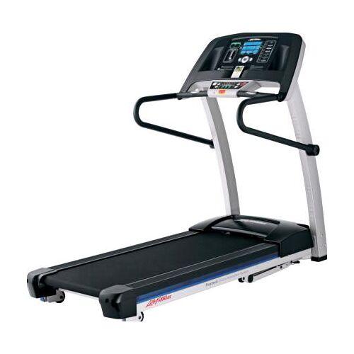Life Fitness Laufband F1 Smart inkl. Bodenschutzmatte und Brustgurt