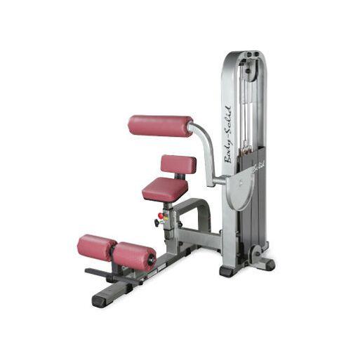 Body-Solid Pro Club Bauch-Maschine mit 95kg Gewichtspaket