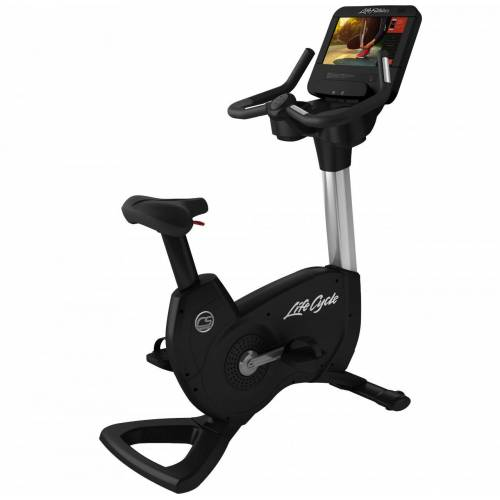 Life Fitness PCS Ergometer mit Discover SE3HD Konsole inkl. Matte, Pulsuhr (Auf
