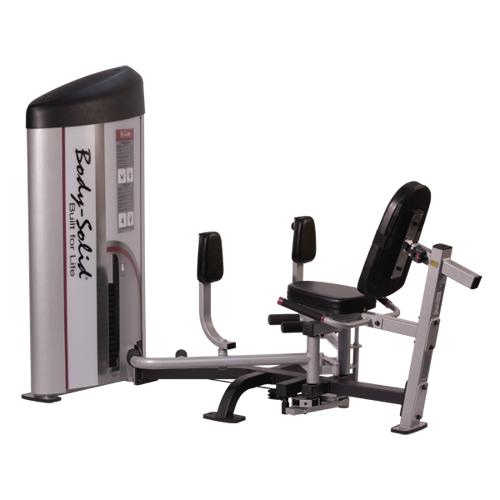 Body-Solid Pro Club S2 Ad- und Abduktorenmaschine S2IOT (75 kg)