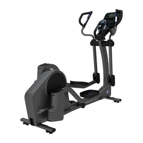 Life Fitness Crosstrainer E5 mit Track Connect Konsole inkl. Bodenschutzmatte u