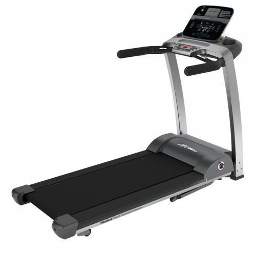 Life Fitness Laufband F3 mit Track Connect Konsole inkl. Bodenschutzmatte und P