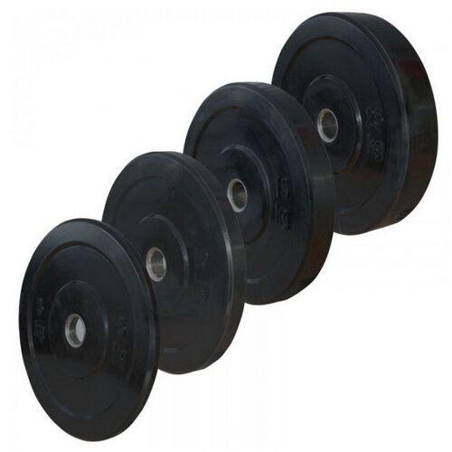 AKW Bumper Plates, 51mm Set 2 x 10 / 2 x15 / 2 x 20 / 2 x25 kg