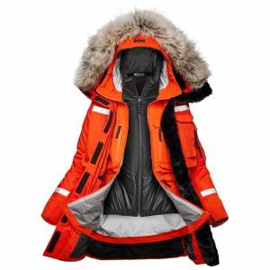 Helly Hansen Dame Arctic Patrol Modular Parka Orange L